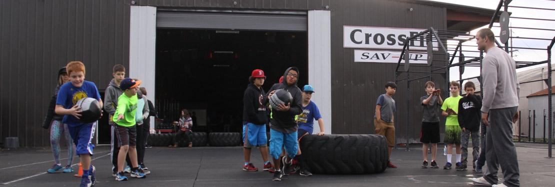 CrossFit Pre-Teens in Petaluma CA